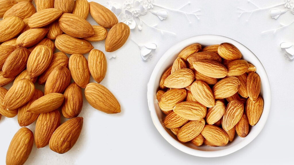 Almonds from Sridurgs dryfruits